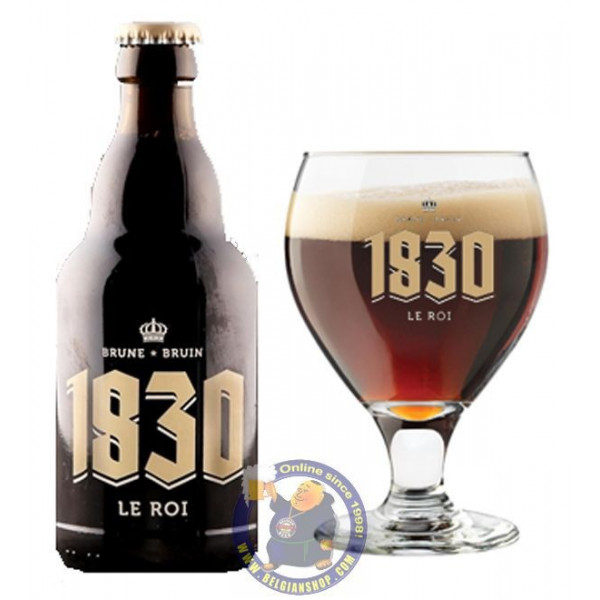 SCASSENES 1830 LE ROI - Brune 10° -1/3L - Special beers -