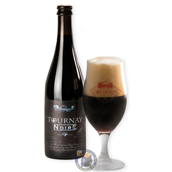 Buy-Achat-Purchase - Cazeau Tournay Noire 7.6° - 1/3L - Special beers -