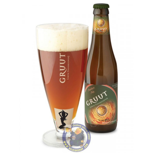 Buy-Achat-Purchase - Gentse Gruut Amber 6.6° - 1/3L - Special beers -