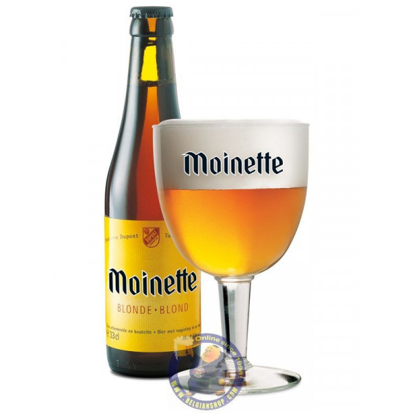 Buy-Achat-Purchase - Abbaye Moinette blond 8.5°-1/3L - Special beers -