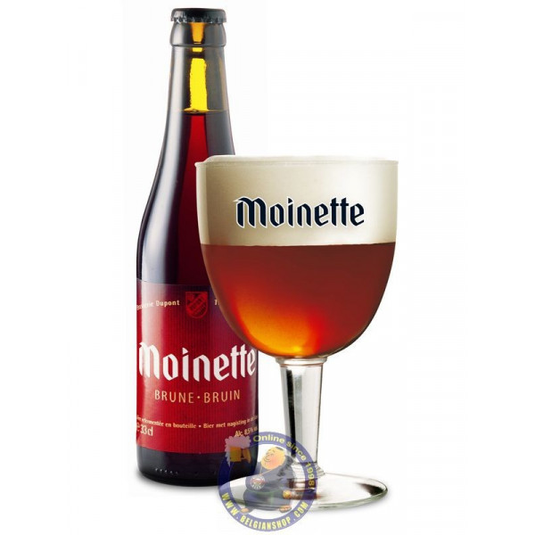 Buy-Achat-Purchase - Abbaye Moinette bruin 7.5°-1/3L - Special beers -