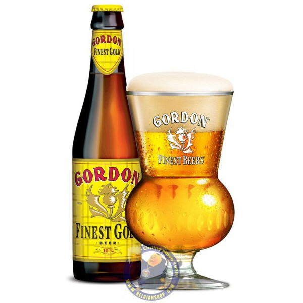 Buy-Achat-Purchase - Gordon Finest Gold 10° - 1/3L - Special beers -