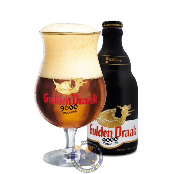 Buy-Achat-Purchase - Gulden Draak 9000 Quadrupel 10,5° - 1/3L - Special beers -