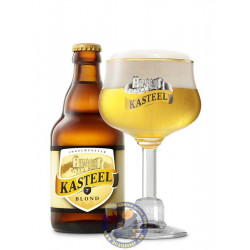 Buy-Achat-Purchase - Kasteelbier Blond 7° - 1/3L - Special beers -