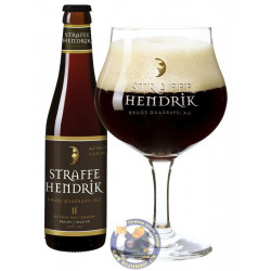 Buy-Achat-Purchase - Brugs Straffe Hendrik Quadrupel 11° - 1/3L - Special beers -
