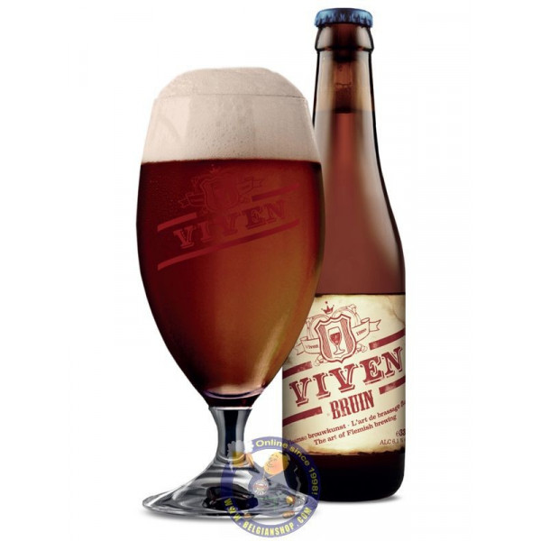Buy-Achat-Purchase - Viven Bruin 6.1° - 1/3L - Special beers -