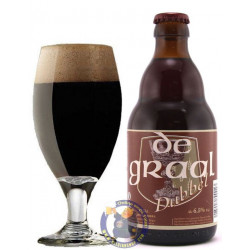 Buy-Achat-Purchase - De Graal Dubbel 6,5° - 1/3L - Special beers -
