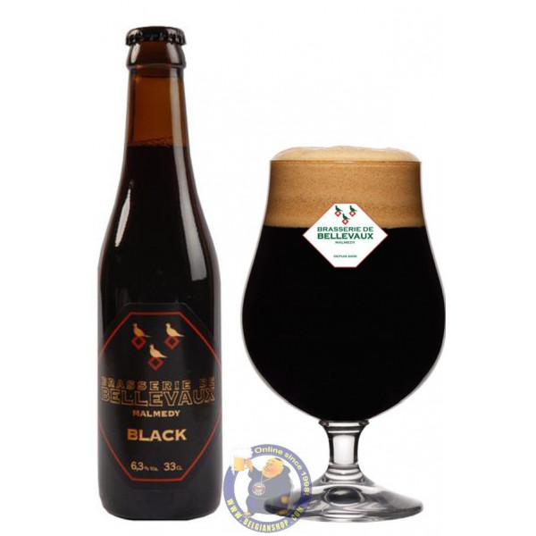 Buy-Achat-Purchase - Bellevaux Black 6,3° - 1/3L  - Special beers -