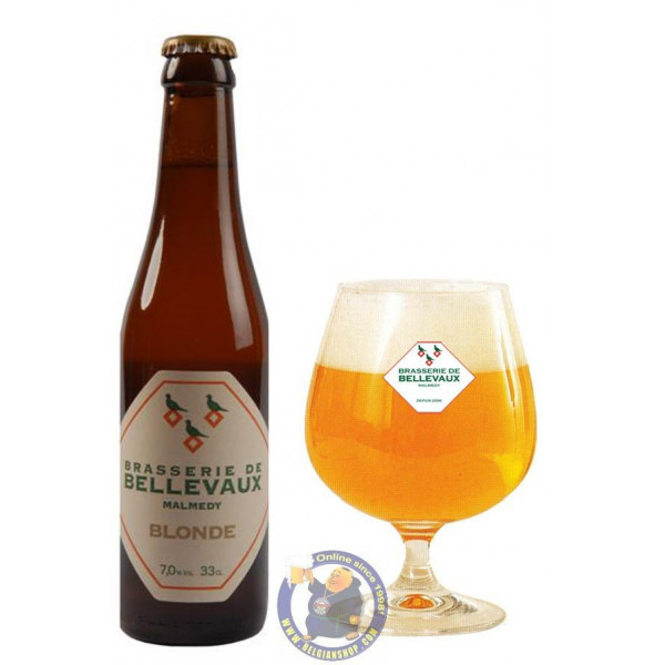 Buy-Achat-Purchase - Bellevaux Blond 7° - 1/3L  - Special beers -