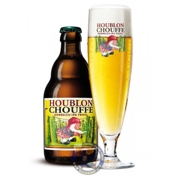 Buy-Achat-Purchase - Chouffe Houblon Dobbelen IPA Tripel 9° - 1/3L - Special beers -