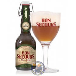 Buy-Achat-Purchase - Bon Secours Amber 8° - 33 Cl - Special beers -