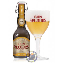 Buy-Achat-Purchase - Bon Secours Blond 8° C - 33 Cl - Special beers -