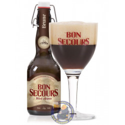 Buy-Achat-Purchase - Bon Secours Brune 8° - 33 Cl - Special beers -