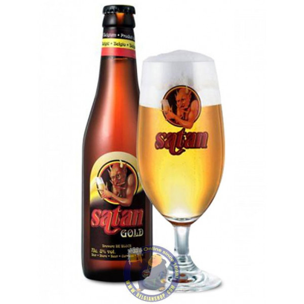 Buy-Achat-Purchase - Satan Gold 8°-1/3L - Special beers -