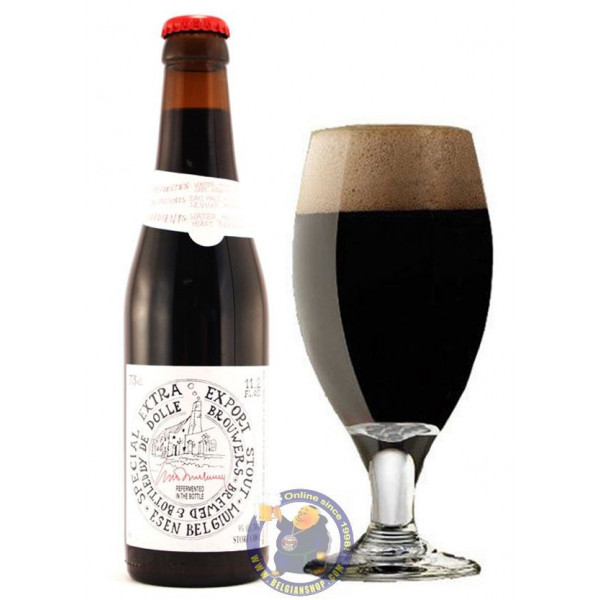 Buy-Achat-Purchase - Extra Stout Dolle Brouwers 9°-1/3L - Special beers -
