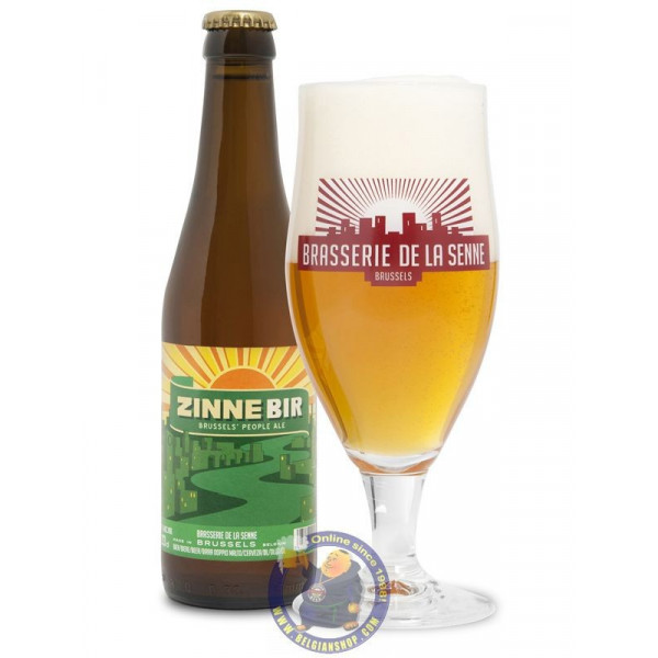Buy-Achat-Purchase - De la Senne Zinnebir 5,5°- 1/3L  - Special beers -