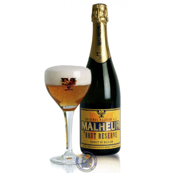 Buy-Achat-Purchase - Malheur Brut Reserve 10°-75 cl - Special beers -