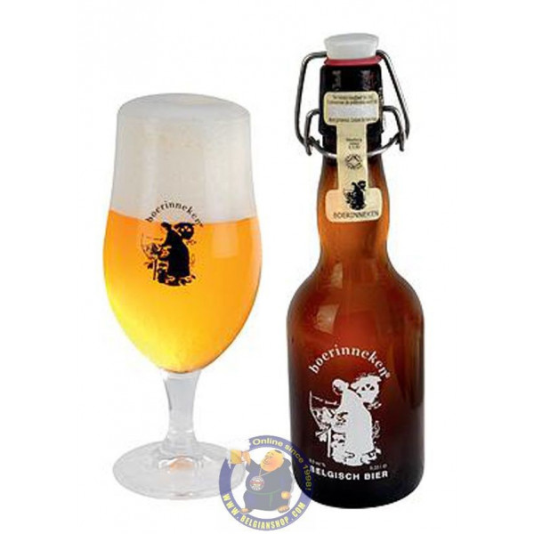 Buy-Achat-Purchase - Boerinneken 9,5° - 1/3L - Special beers -