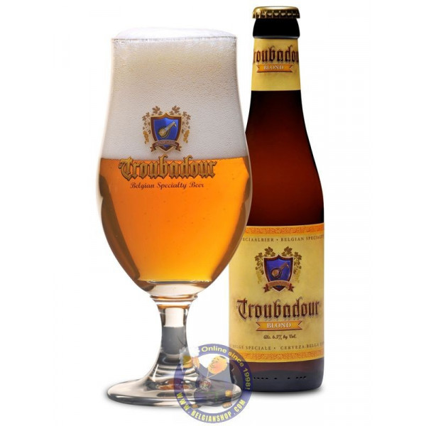 Buy-Achat-Purchase - Troubadour 6.5° - 1/3L - Special beers -