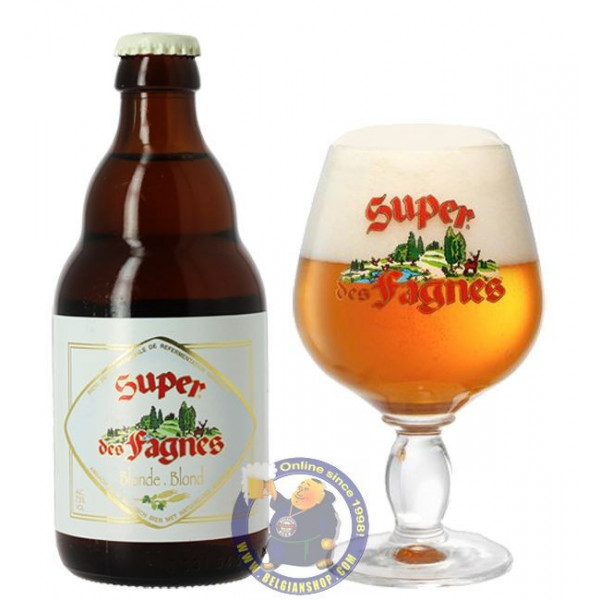 Buy-Achat-Purchase - Super des Fagnes Blond 7.5° - 1/3L - Special beers -