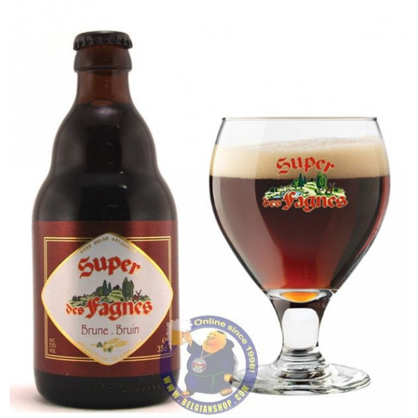 Buy-Achat-Purchase - Super des Fagnes Bruin 7.5°- 1/3L - Special beers -