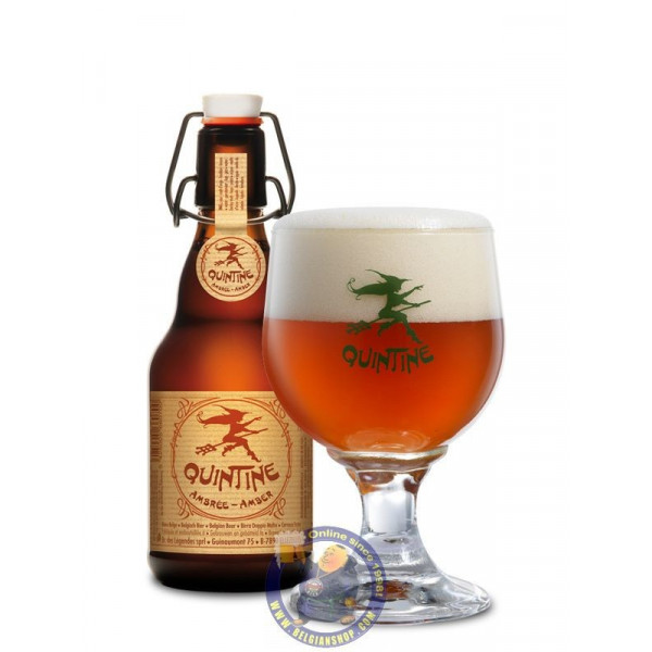 Buy-Achat-Purchase - Quintine Amber 8.5°-1/3L - Special beers -