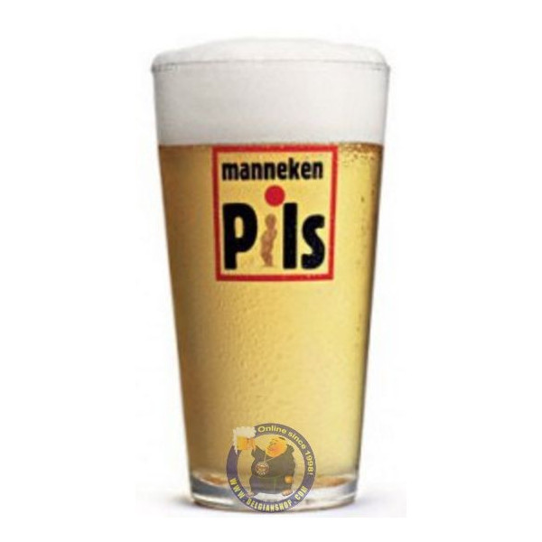 Buy-Achat-Purchase - Manneken Pils Glass - Glasses -