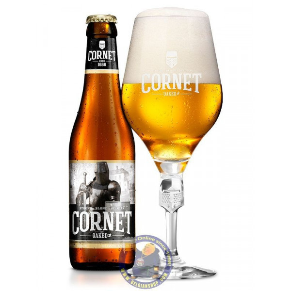 Buy-Achat-Purchase - Cornet Oaked 8.5° - 1/3L - Special beers -