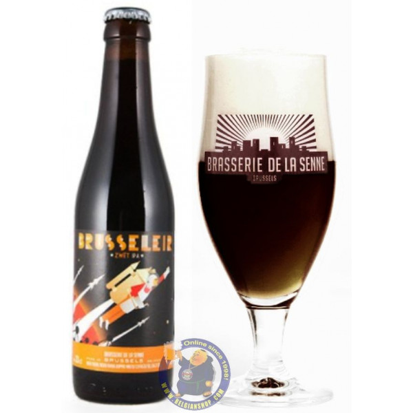 Buy-Achat-Purchase - De la Senne Brusseleir Zwet IPA 8° - 1/3L - Special beers -