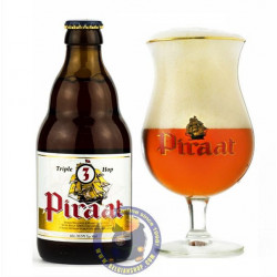 Buy-Achat-Purchase - Piraat Triple Hop 10.5° -1/3L - Special beers -