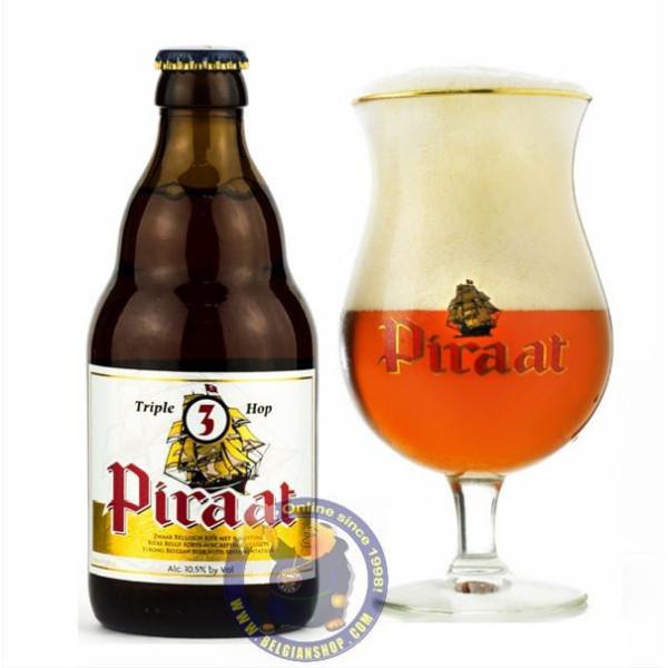 Buy-Achat-Purchase - Piraat Triple Hop 10.5° -1/3L - Special beers -
