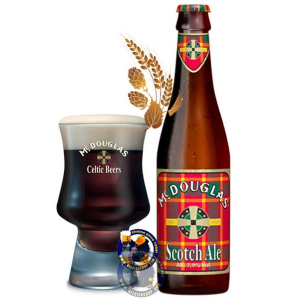 Buy-Achat-Purchase - Mc Douglas Scotch Ale 7.9° - 1/3L - Special beers -