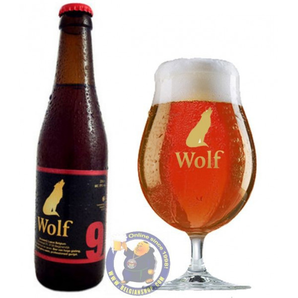 Buy-Achat-Purchase - Lupus Wolf 9 - 9° -1/3L  - Special beers -