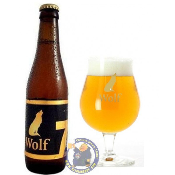 Buy-Achat-Purchase - Lupus Wolf 7 - 7,4° - 1/3L  - Special beers -