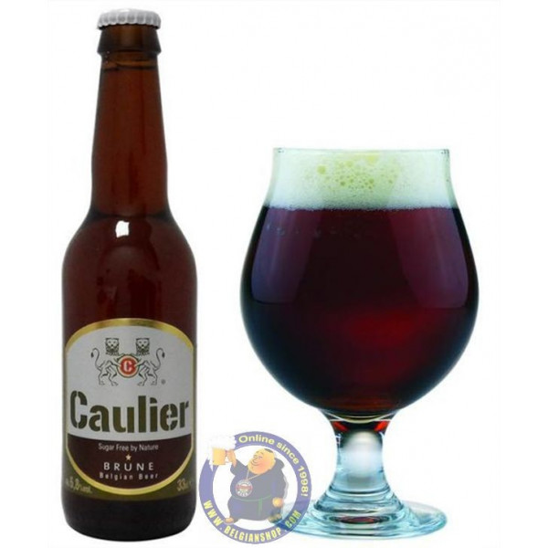 Buy-Achat-Purchase - Caulier Bruin 6,8°-1/3L - Special beers -