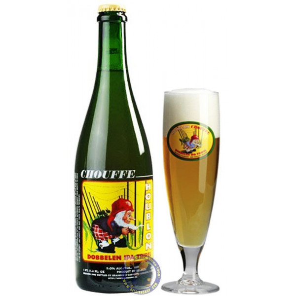 Buy-Achat-Purchase - Chouffe Houblon Dobbelen IPA Tripel 9° - 3/4L  - Special beers -