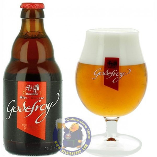 Buy-Achat-Purchase - Godefroy Rousse 6° -1/3L - Special beers -
