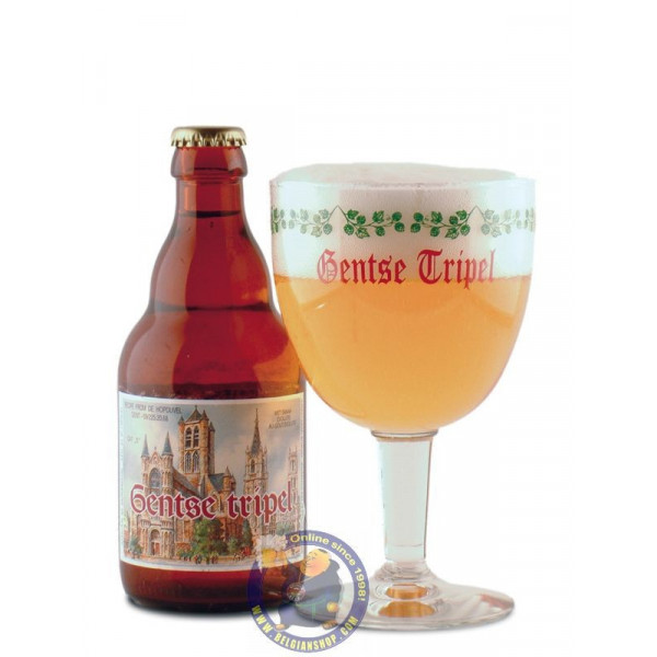 Hopduvel Gentse Tripel 8° -1/3L - Special beers -