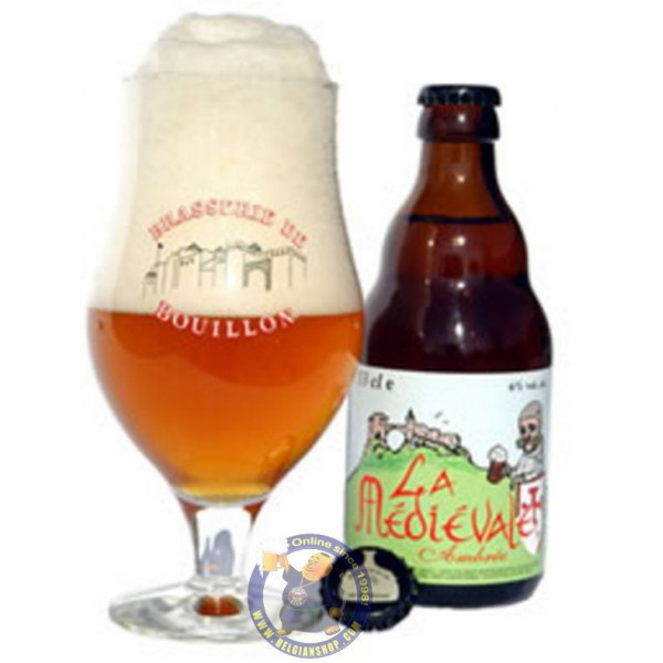 Buy-Achat-Purchase - La Médiévale de Bouillon 6° - 1/3L - Special beers -