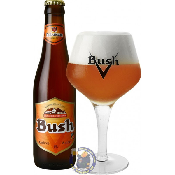 Buy-Achat-Purchase - Bush Amber 12°- 1/3L - Special beers -