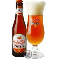 Bush Peche-Mel 8.5° -1/3L - Geuze Lambic Fruits -