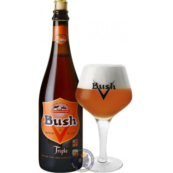 Buy-Achat-Purchase - Bush Amber Triple 12° - 3/4L - Special beers -