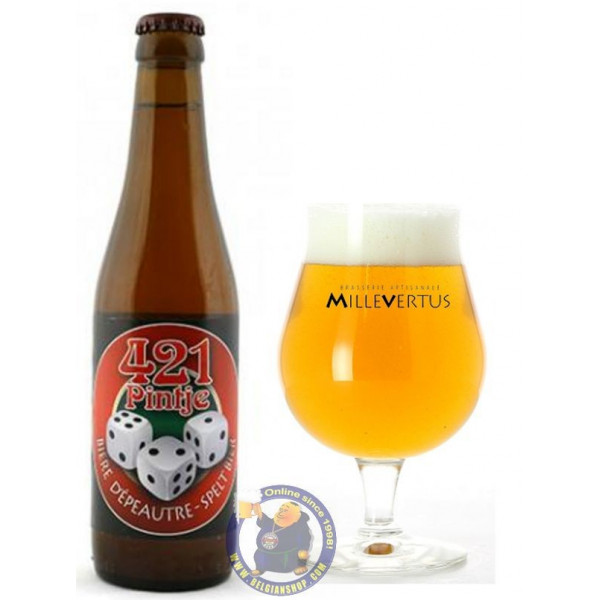Buy-Achat-Purchase - Millevertus 421 Pintje 4.21° - 1/3L - Special beers -