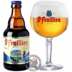 Buy-Achat-Purchase - St Feuillien Triple 8.5° -1/3L - Abbey beers -