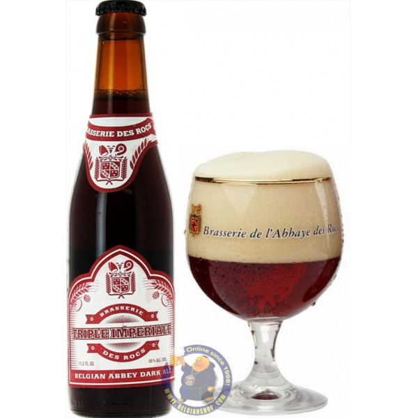 Buy-Achat-Purchase - Abbaye des Rocs Triple Impériale 10° - 1/3L - Abbey beers -