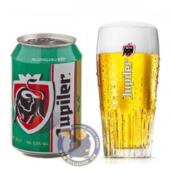 Jupiler NA 0,5° - 1/3L CAN - Pils -