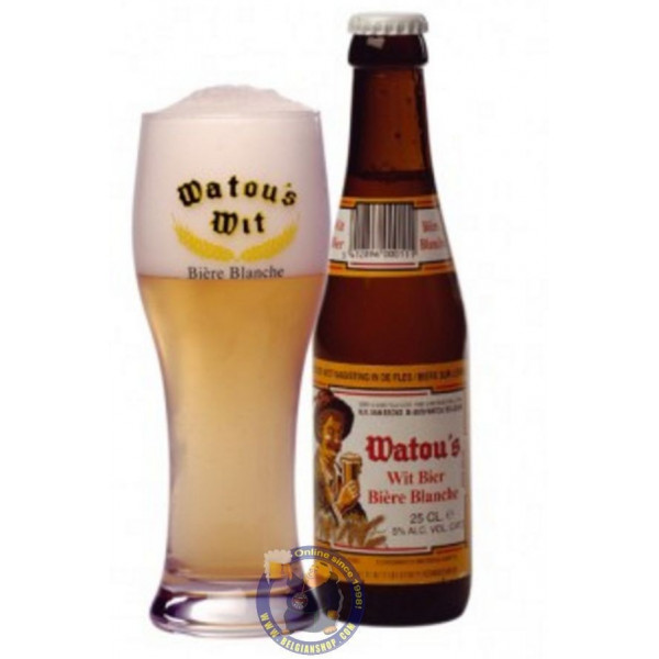 Buy-Achat-Purchase - Watou's Wit Bier 5°-1/4L - White beers -