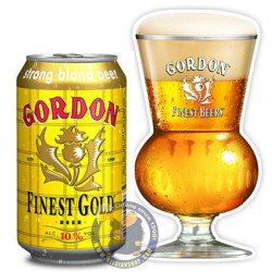 Gordon Finest Gold 10°-33Cl-Can - Special beers -