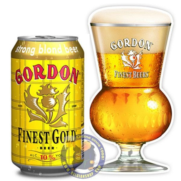 Buy-Achat-Purchase - Gordon Finest Gold 10°-33Cl-Can - Special beers -