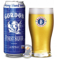 Gordon Finest Silver 7,7°- 1/2L CAN  - Special beers -